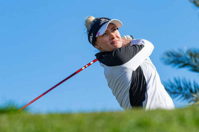 Amy Boulden of Wales during the final round