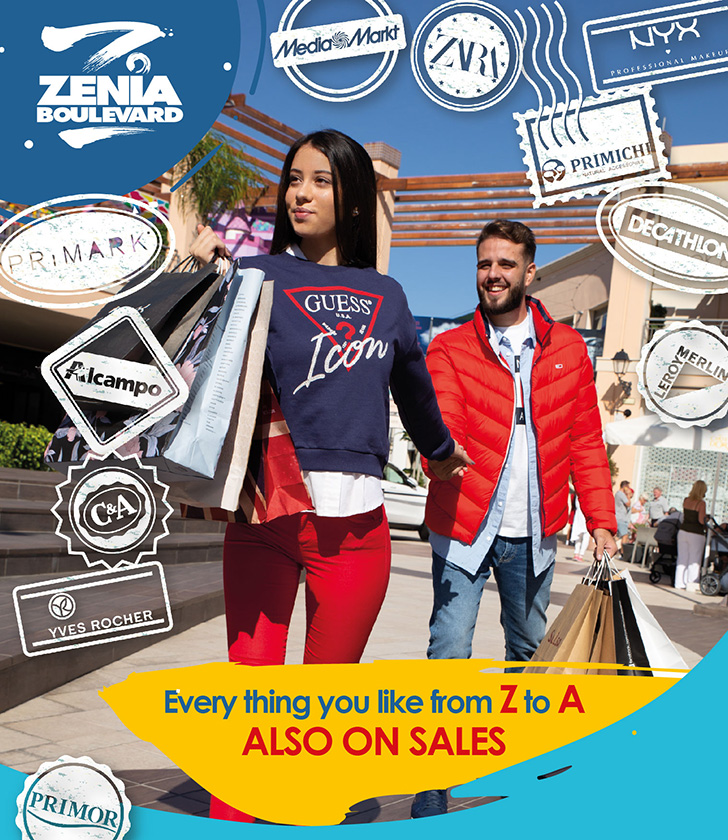 January Sales NOW ON at La Zenia Boulevard!