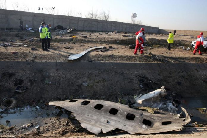Boeing 737-800 bound for Ukraine from Tehran crashes killing 176 people
