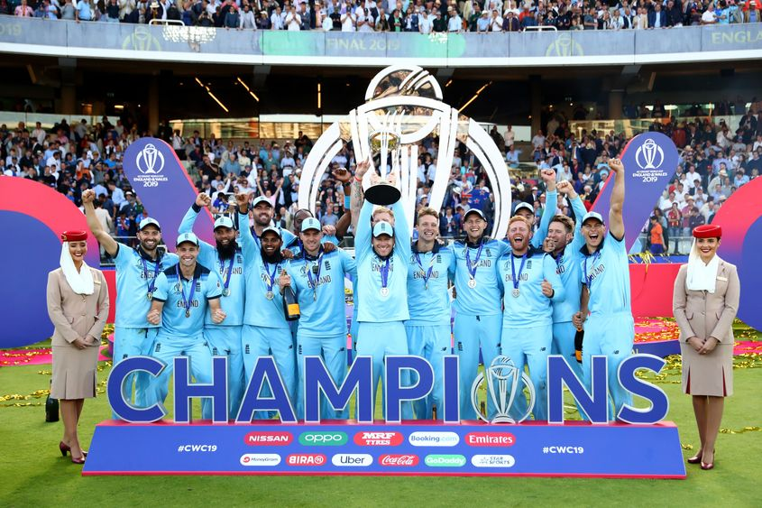 England win Cricket World Cup in Super Over
