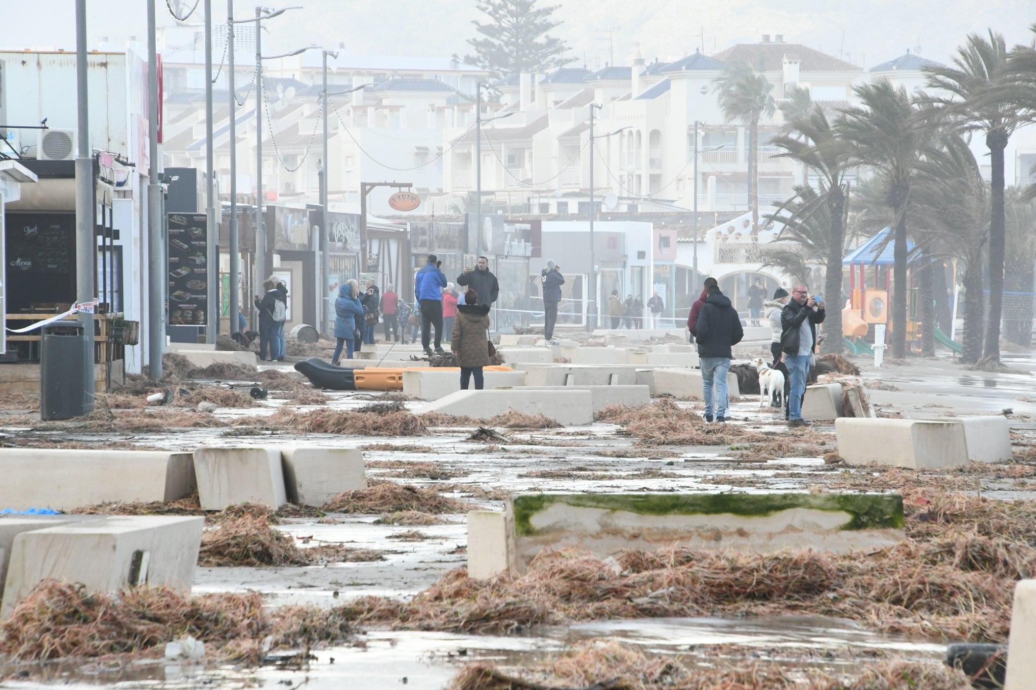 Javea seafront