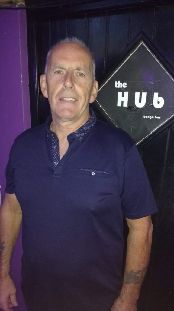 Former pro darts player and publican Nigel Justice