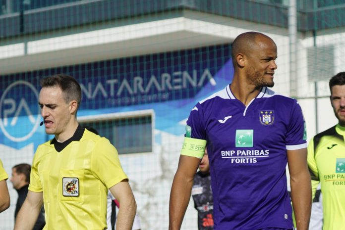 Belgian international Vincent Kompany scores goal 4,000 at Pinatar Arena