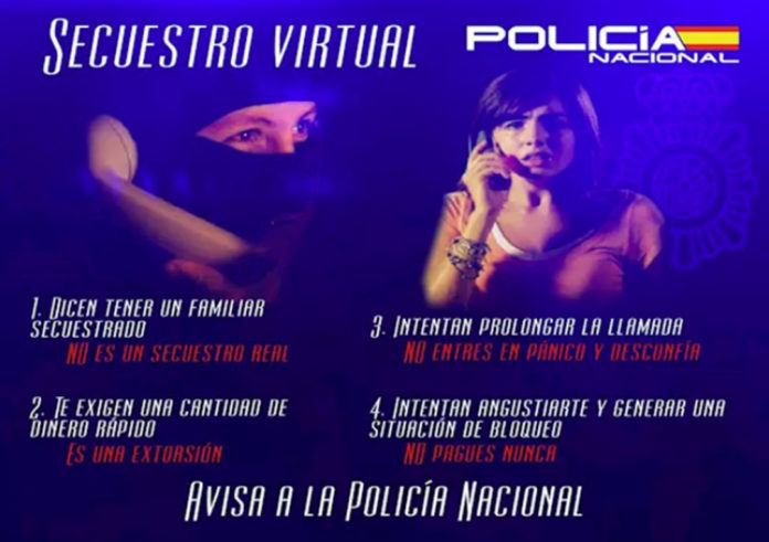 Police prevent a mother from paying 10,000 euros in virtual kidnap