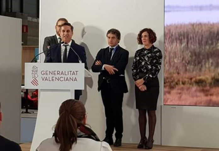 Mayor Butron with councillors in Madrid