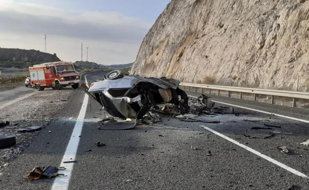 Tragedy on Spain's Costa del Sol as young German driver killed in horrific car accident