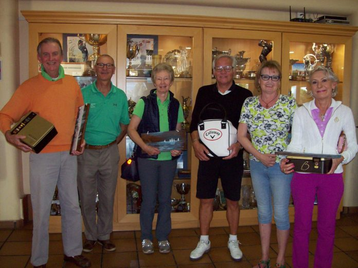 LIZ WINS THE STABLEFORD COMPETITION