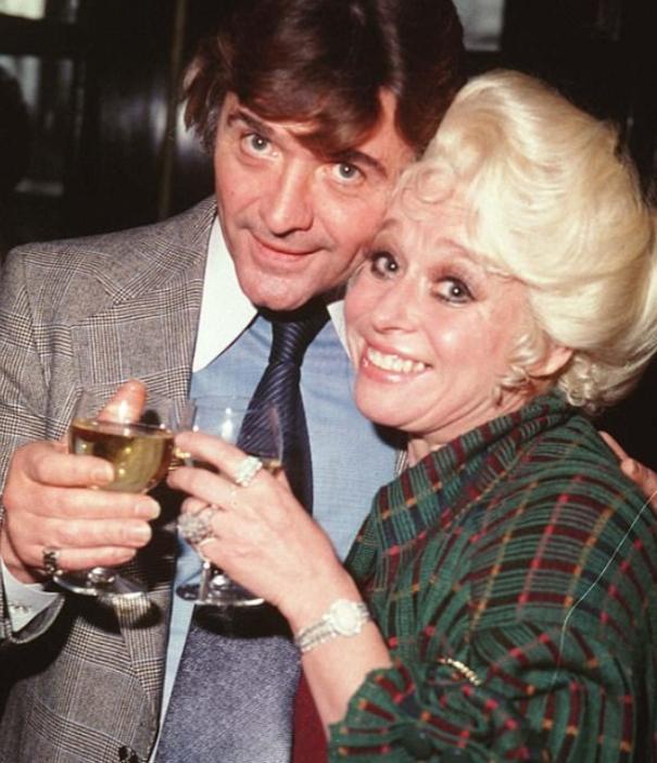Ronnie Knight and Barbara Windsor.