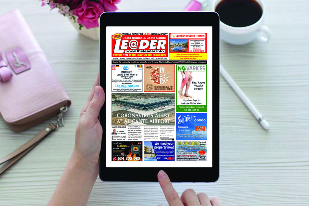 Edition 804 The Costa Blanca Leader Newspaper