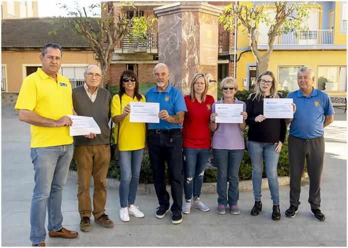 Imanyo Golf Society Raises €1270 for local Charities