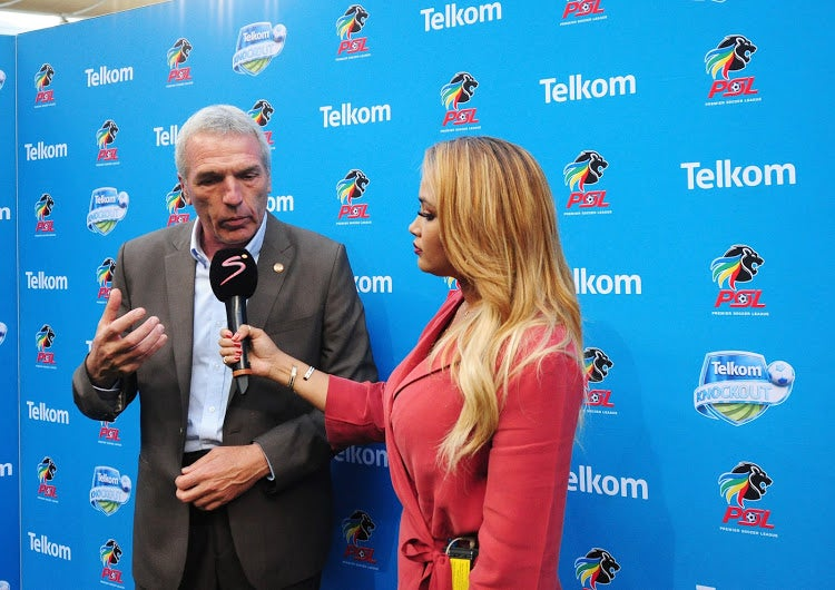 Chief's coach Ernst Middendorp