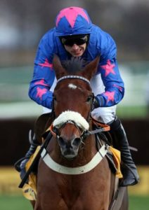 Cue Card won with ease by more than eight lengths