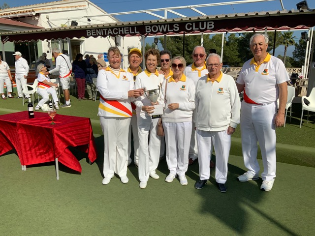 Benitachell Bowls Club Finals of the Winter Rinks