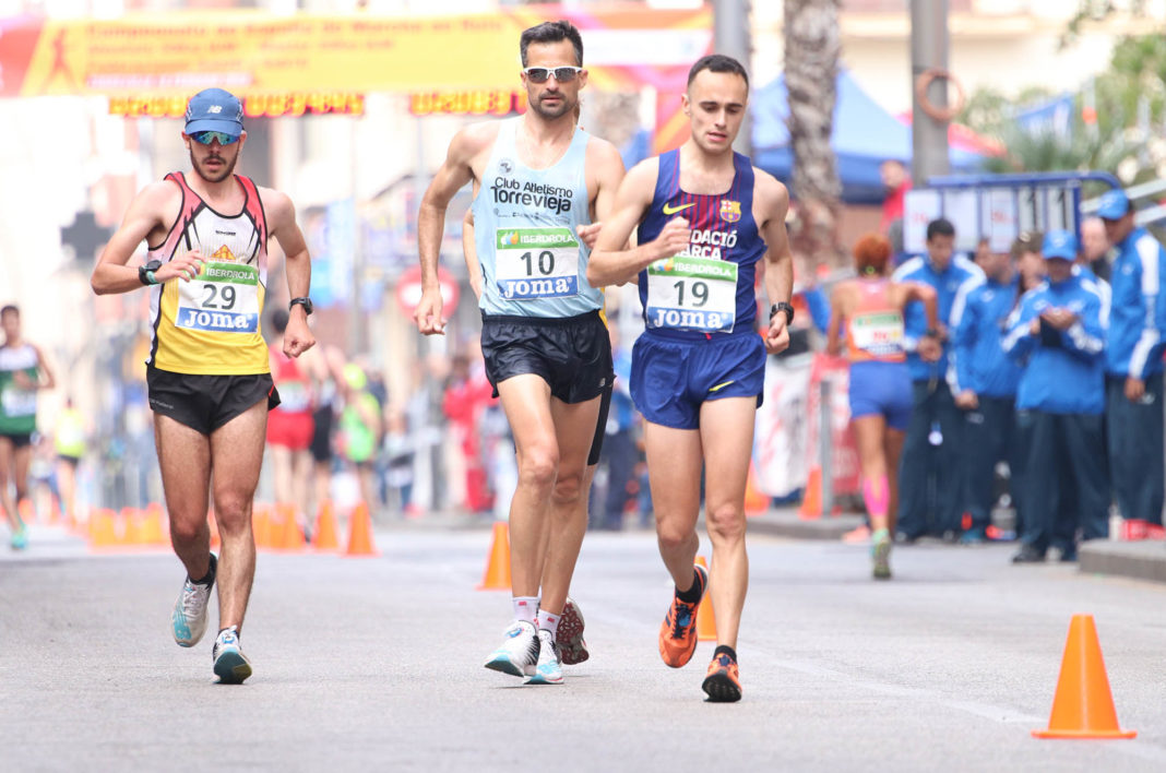 Fifth place in Nationals for Torrevieja Walker
