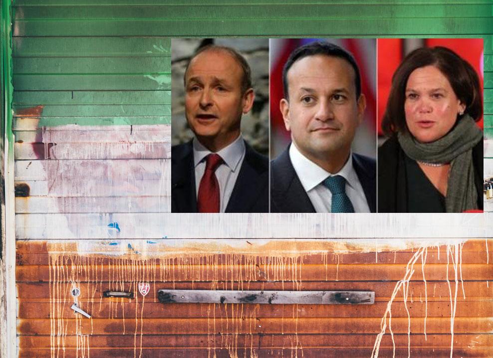 Irish elections predict tie between 3 main parties