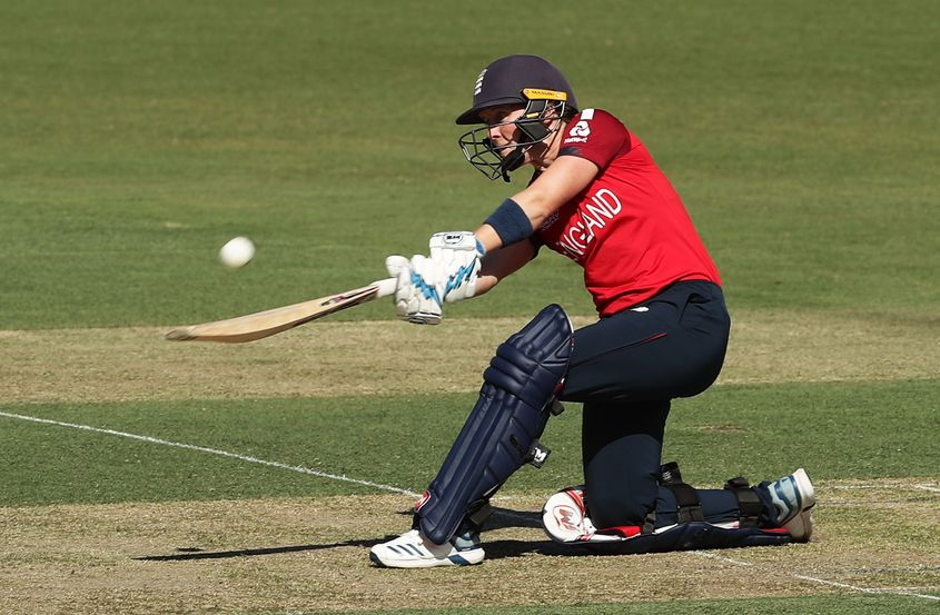 Heather Knight, 29, played a compelling captain's innings in Canberra to lead her team to a 98-run victory