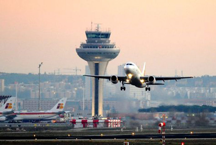 Unmanned drones close down Madrid Airport
