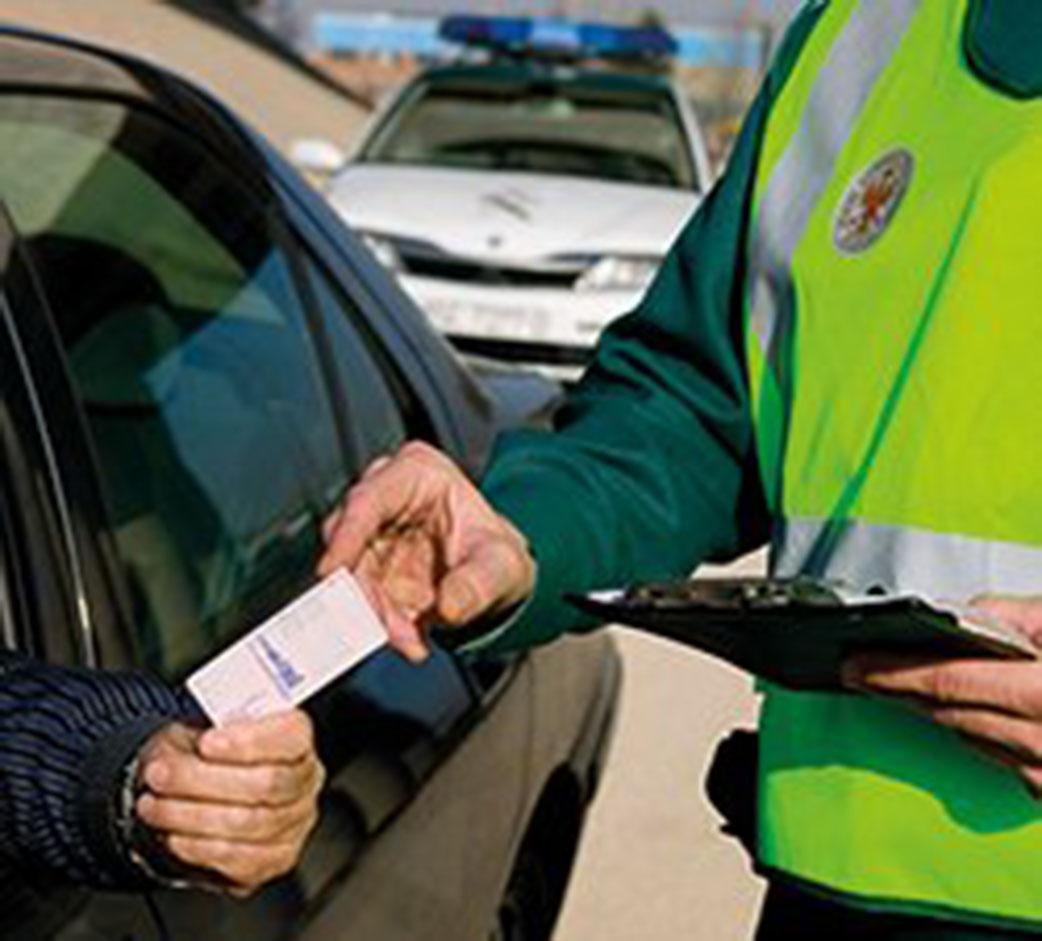 Civil Guardia Traffico Policia active in Los Montesinos