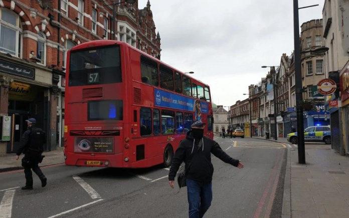 Terrorist incident in London as man shot dead