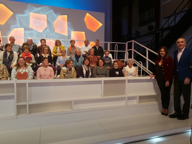 In the studio audience of the Canal Sur programme