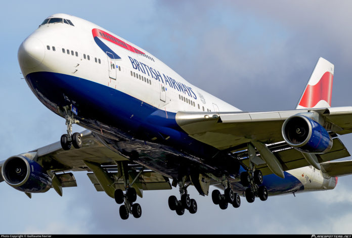 Storm Ciara pushes British Airways 747 to new Transatlantic Record