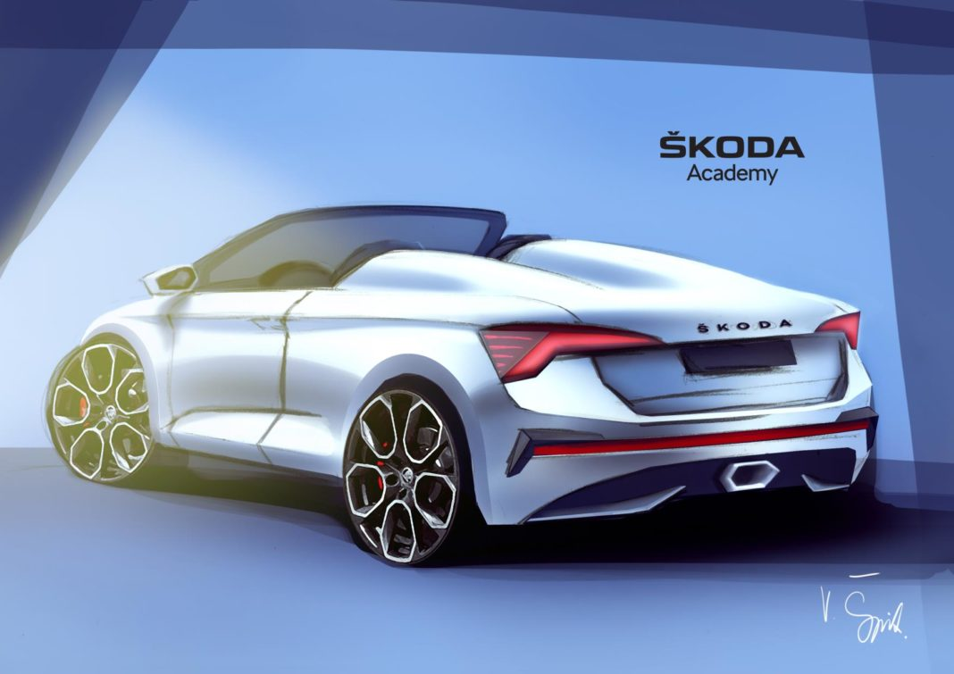 Seventh Concept Car from the ŠKODA Academy will be unveiled June 2020