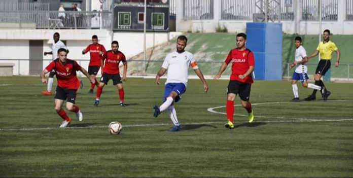 REFC Torrevieja suffered 1-0 defeat against CD Cox. Photo: courtesy REFC Torrevieja.
