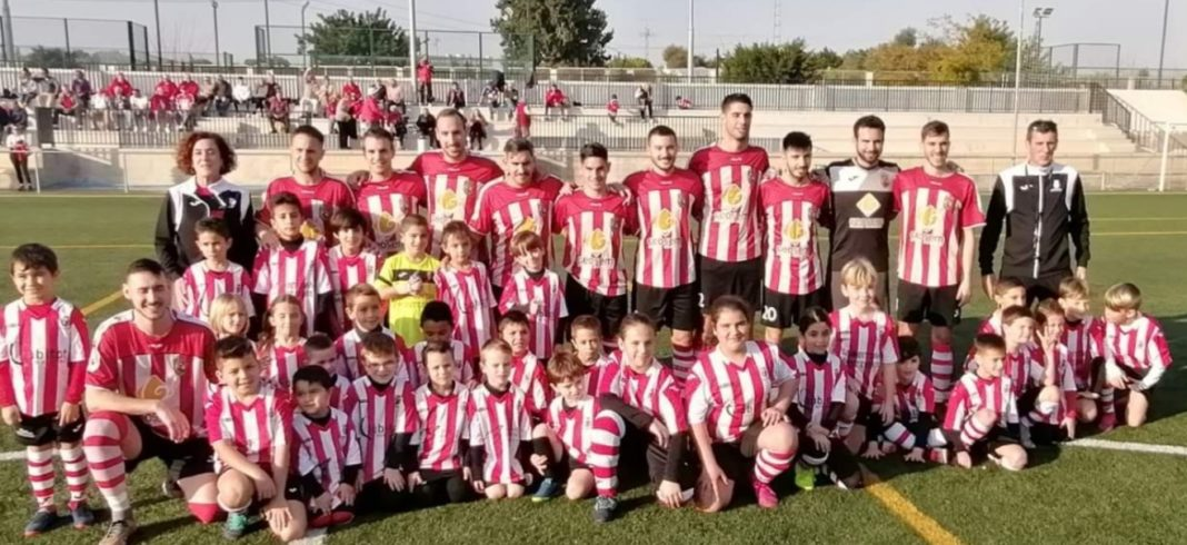CD Montesinos: Los Montesinos based community football teams affected by the coronavirus. Photo: Full Monte supporters club.