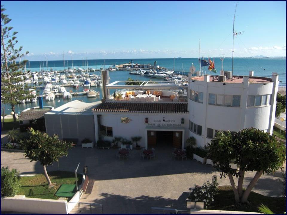 the Torre de la Horadada Yacht Club restaurant