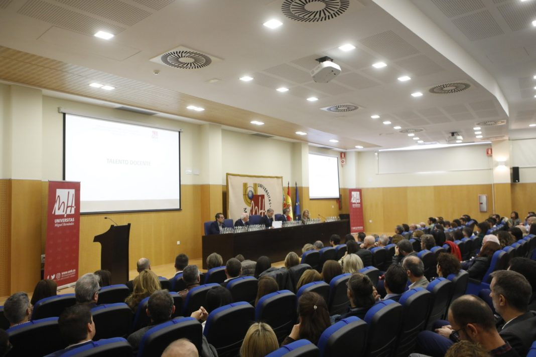 Friday's packed seminar at the Miguel Hernández University (UMH) of Elche