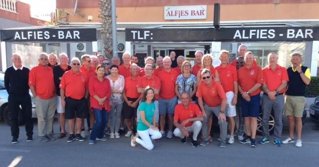 Alfies Bar ran various fund raisers managing to raise €2,200.