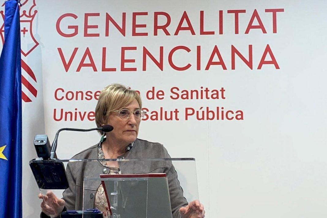 Valencia's Minister of Health Ana Barcelo