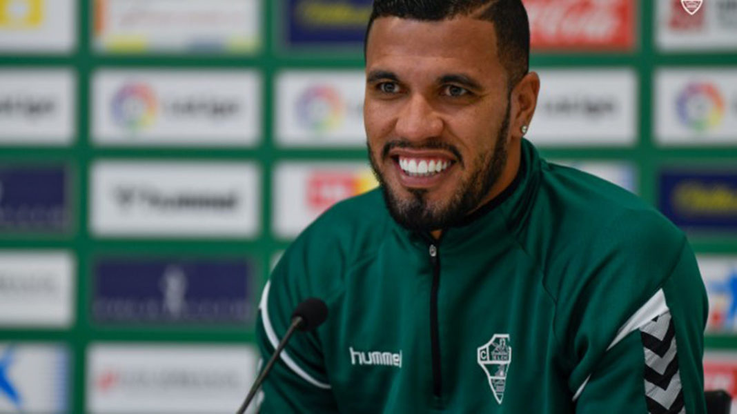 """Elche footballer Jonathas – """"People need to be aware of the severity of this virus."""""""