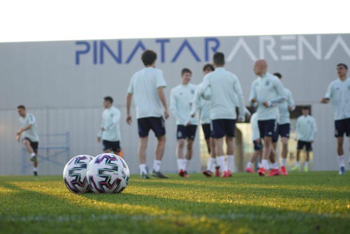 Feast of International Youth Football at Pinatar Arena