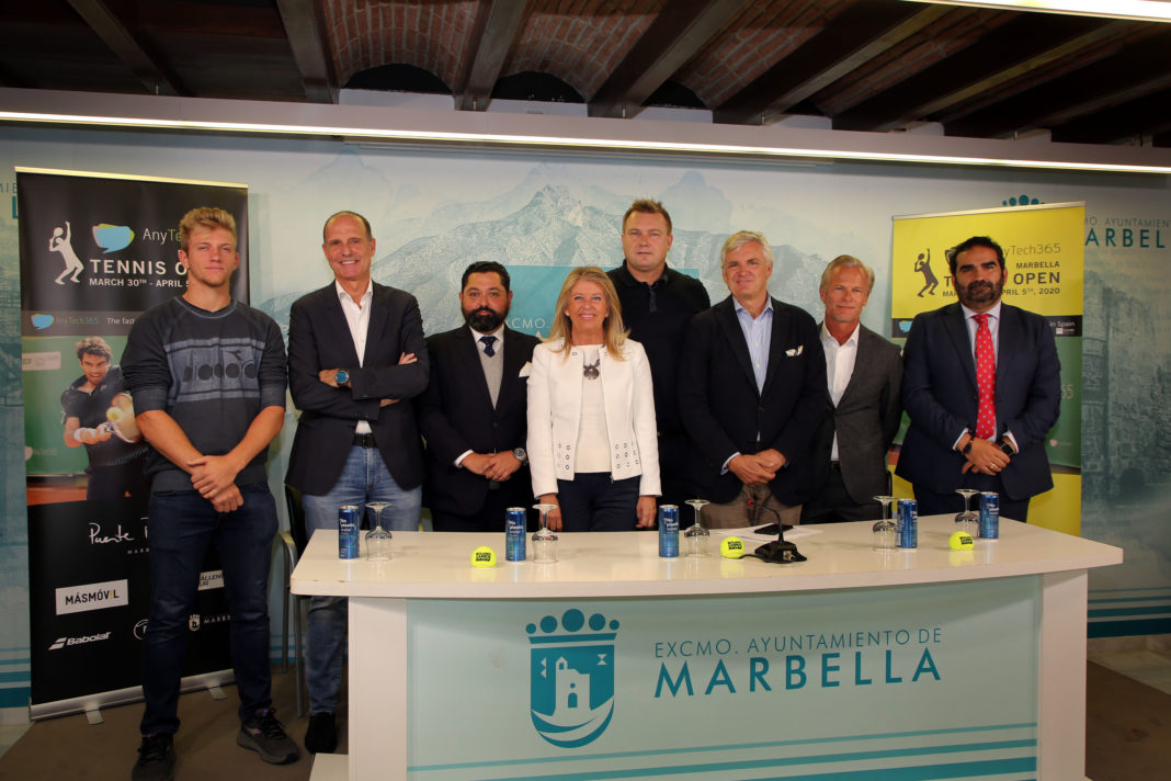 Janus Rægaard Nielsen CEO of AnyTech365 says: AnyTech365 is proud to be title sponsor of AnyTech365 Marbella Tennis Open.