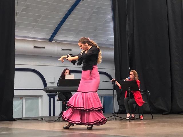 """""""La Mujer en El Flamenco""""Mojácar's Rey Alabez Students attend Musical Workshop"""