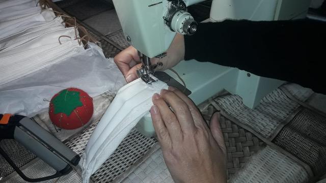 Mojácar's Women set up homemade health masks project