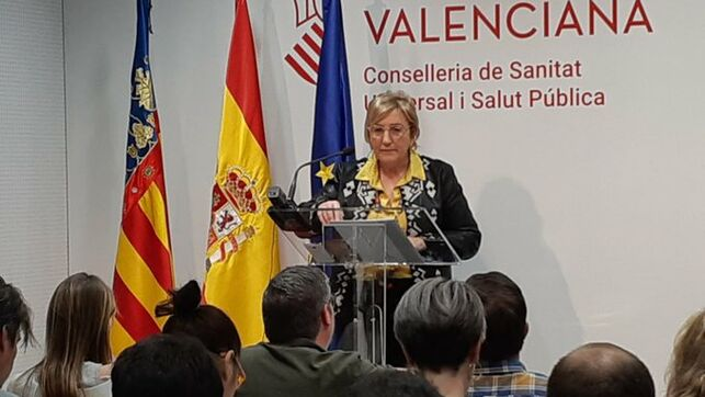 The Valencian Minister of Health, Ana Barceló,