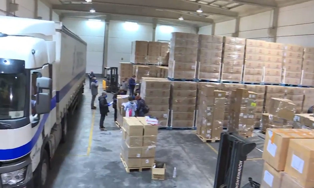Valencian Consell begins distribution of protection equipment