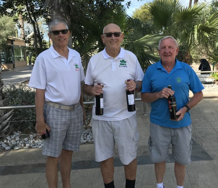 Photograph from L to R, Mike Davies, David Swann, Ray Housley.