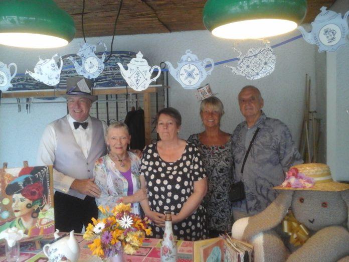 Our photo shows Dave Monaghan, Lorraine Whitney, Pauline Lane, Rita Monaghan and David Whitney