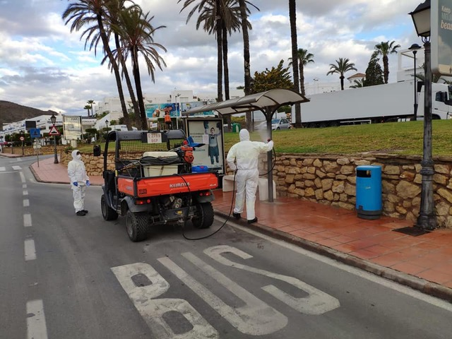 IntensiveCleaning and Disinfection in Mojacar