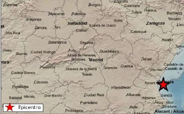 Three quakes hit region in less than 90 minutes