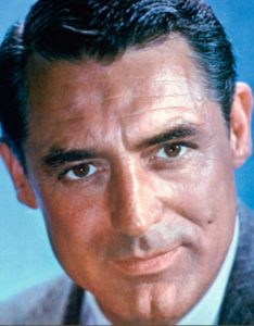 Biggest thrill meeting Cary Grant.