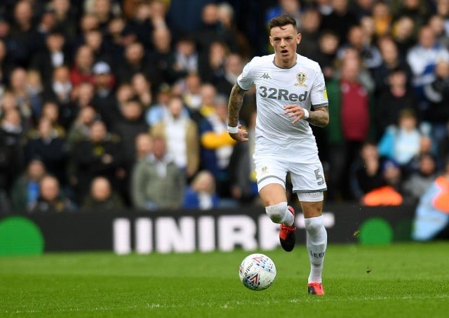 Ben White has played 37 games for Leeds in this campaign and is on the radar of both Liverpool and Man Utd