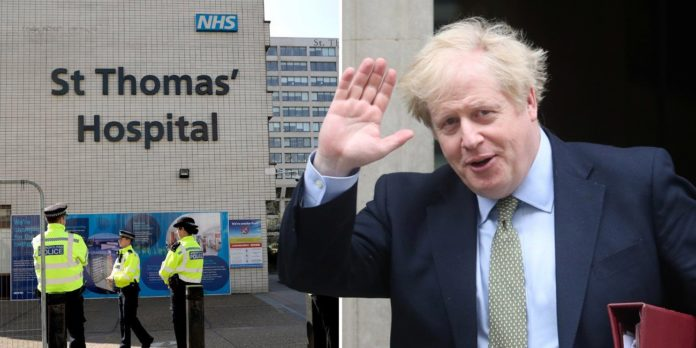 Boris leaves hospital to convalesce at Chequers