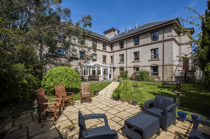 Letham Park care home in Edinburgh