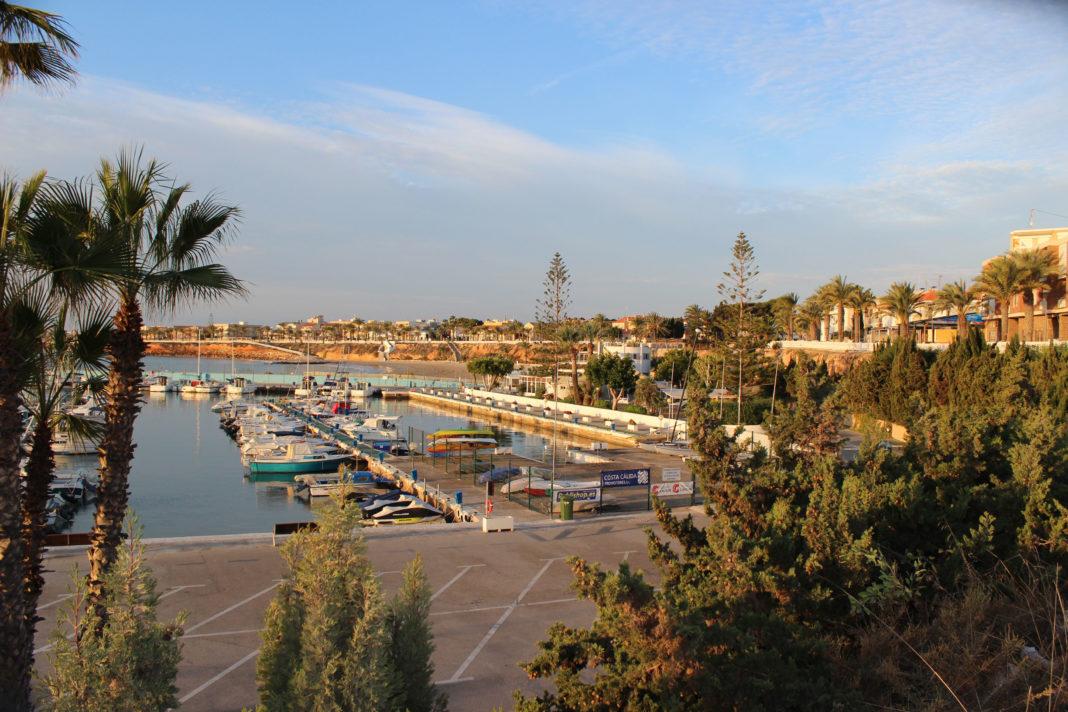 The yachting marina in Torre de la Horadada