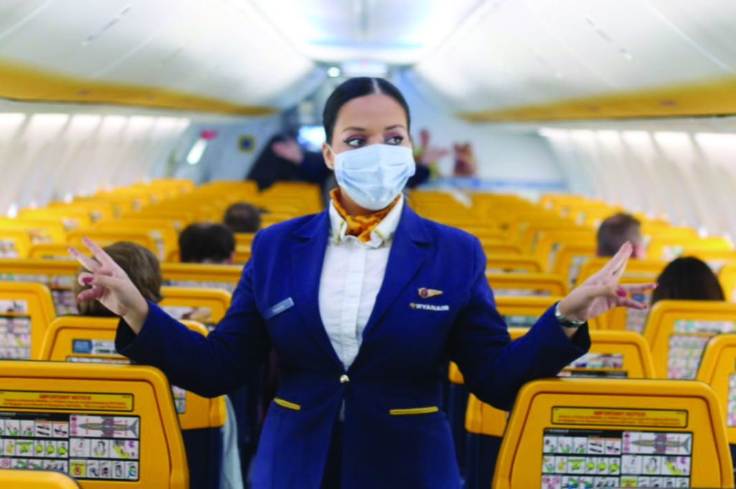 EASA confirm need to wear face masks on all flights