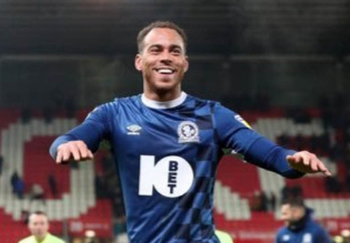 Blackburn skipper Elliott Bennett COVID-19 positive. Photo: Twitter.